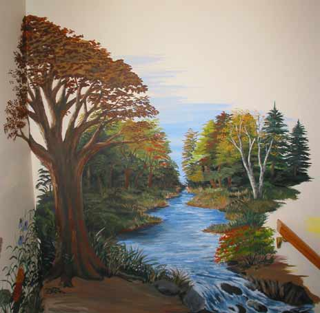 Mural painting for Best paint for a wall mural